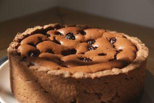 Torta al cioocolato e more, Chocolate blackberry tart