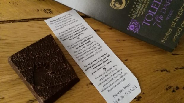 Cioccolato Solkiki, Solkiki chocolate