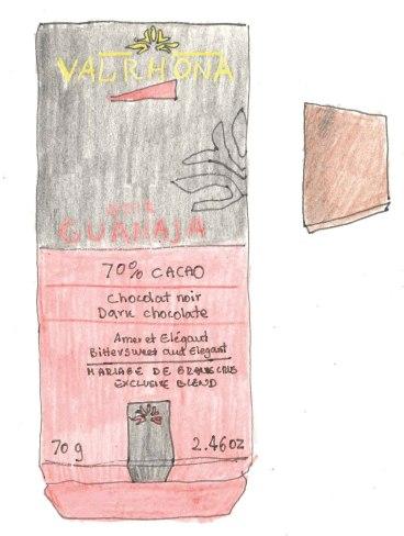 Baretta Cioccolato Valrhona, Valrhona Chocolate Bar
