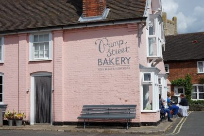 Pump Street Bakeri -The Bakery orford, Suffolk, UK